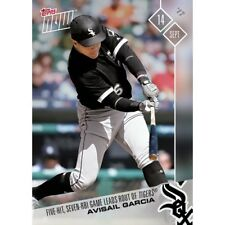 2017 Topps Now #603 FIVE-HIT, SEVEN RBI GAME LEADS ROUT OF TIGERS AVISAIL GARCIA