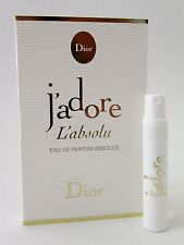 Dior J'adore L'absolu Eau de Parfum Absolue EDP Women .03 oz 1 ml Spray Vial New