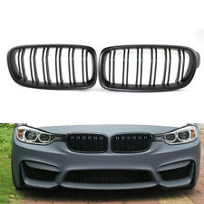 Front Flat Black Double line Racing Grille for BMW 3 Series M3 F30 F35 12-15 ABS