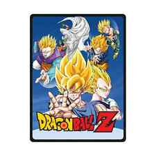 Anime Dragon Ball Z Soft Comfortable Unique Throw Blanket Bed 58 x 80 Inch