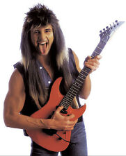 80s Rocker Vokuhila Perücke für Herren NEU - Karneval Fasching Perücke Haare