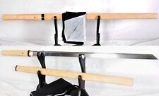 Handmade Japanese Sword Katana Folded Damascus Steel Ninja Full Tang Sharp blade