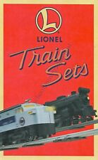 1996 Lionel Train Sets Original Illustrated Model Trains Brochure With Prices
