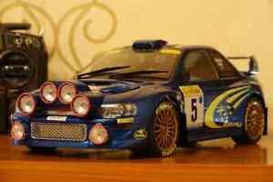 RC 1/10 Custom Replica  Subaru Impreza GC8 Prodrive WRC S6/P2000 Tamiya TT-02