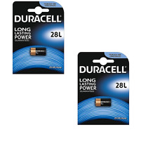 2 pile batterie al litio PX28 28L PX28L L544 2CR1/3N DURACELL LITIO PHOTO FOTO