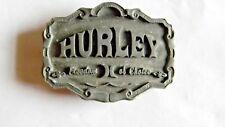 Vintage Hurley Freedom of Choice Belt Buckle- Metal