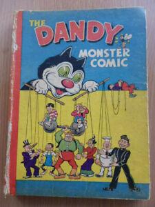 The Dandy Monster Comic Annual 1947. Fair.