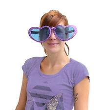 Herzförmige Übergroße Brille - Jumbo Party Brille Party Fasching Karneval