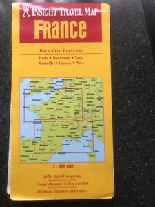 Insight Travel map of France (2003)