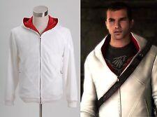 Assassin's Creed Desmond Miles Bianca Felpa con cappuccio Formati Standard B