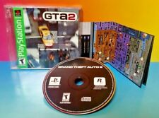 Grand Theft Auto 2 - Playstation 1 2 PS1 PS2 Rare Game  with Map ! GTA 2