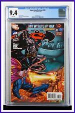 Superman Batman #69 CGC Graded 9.4 DC April 2010 White Pages Comic Book.