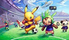 Pokemon Custom Playmat Pikachu Football Soccer World Cup Play Mat