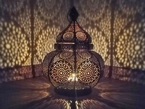 Moroccan Lantern Design Christmas Decor lamp Spetacular Play of Light Table lamp