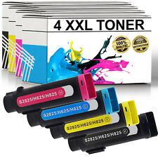 4x Toner für Dell H625 H825 S2825 H625cdw H825cdw S2825cdn 4er Set