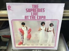 The Supremes Live At the Copa LP Pickwick SEALED [Diana Ross] [Motown]
