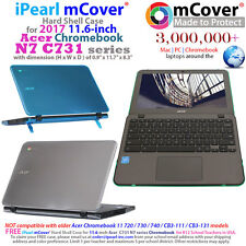 "iPearl mCover® Hard Case for 2017 11.6"" Acer Chromebook 11 N7 C731 Rugged Laptop"