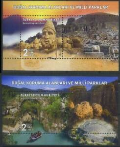 Turkey 2019 National Parks, Nature, Archeology MNH**