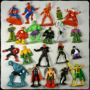 MARVEL DC Comics ~ Superhero Mini Figure Bundle x 15 [gotd]