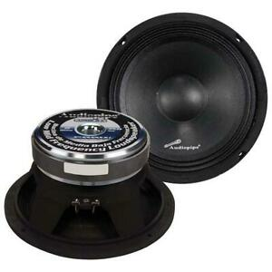 "1) Audiopipe APMB8 8"" 500 Watt Mid Bass Car Speaker Sold Individually"