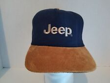 Jeep Suede Strapback Cap Authentic from Mopar