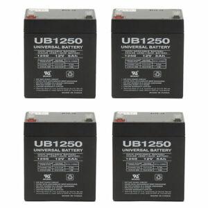 Universal Power Group UB1250MP4153 12V 5Ah Rechargeable Batteries - 1 Ea.