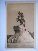 """CPA """"Saint Petersbourg - Statue de Pierre le Grand"""""""
