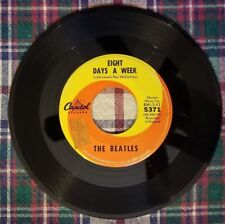 Vintage 45 RPM The Beatles Eight Days A Week & I Don't Want to Spoil the Party