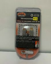 Geek Squad USB Gold Extension 10ft. Cable SEALED