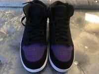 Nike Jordan Access - Men Shoes Color: Black-Purple