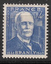 FRANCE TIMBRE  N° 599 * EDOUARD BRANLY