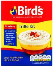 New Birds Trifle Kit Strawberry Or Chocolate Flavour The Original Homemade Taste