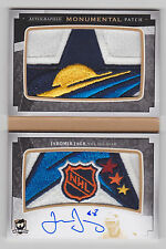 JAROMIR JAGR 2014-15 The Cup Monumental All-Star Logo Patch Auto Booklet #D 3/3