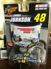 2007 Jimmie Johnson Lowes MARTINSVILLE Race Win 1:64 WC Winners Circle