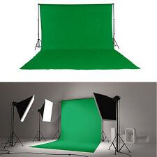 Fotostudio Stoff 3x6m Screen Hintergrundsystem Chromakey Green Grün Hintergründe