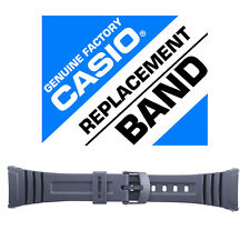 Casio 10076822 Genuine Factory Resin Band, Fits W-96H-1AV and others