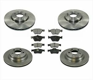 Rotors & Brake Pads for Mercedes Benz E350 4 Matic 06-09 All Wheel Drive