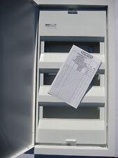 Kleinverteiler Unterputzverteiler  3 reihig Verteiler mit Stahltür 36TE Gewiss