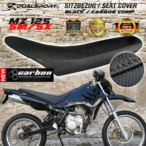 MZ 125 SM /SX Sitzbezug, Seat Cover, Housse de siège, Coprisedile CARBON by DSFX