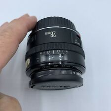 CANON EF 28mm 1:2.8 Lens With 52mm Skylight 1x And Caps With Case