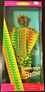 Mattel Barbie Ghanian Dolls Of The World Collectors Edition 1996 New in Package!