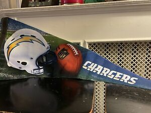 NFL Los Angeles Chargers Football Pennant WinCraft Roll It And Go!