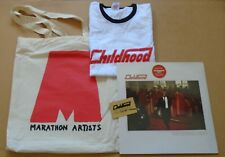 CHILDHOOD Universal High UK promo only pack w/ red vinyl LP, t-shirt & tote bag