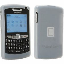 OEM NEW White Silicon Gel Sleeve Skin Cover Case Blackberry 8800 8810 8820 8830