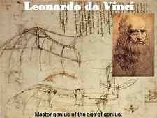 Leonardo Da Vinci Painting 20 Books Cd Rom Da Vinci Code Painter Thinker Genius