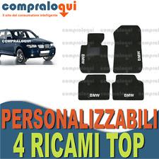 TAPPETI PER BMW X3 E83 TAPPETINI AUTO SU MISURA + 4 DECORI TOP RICAMATI A SCELTA