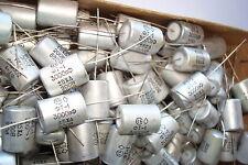 3000pf  5% -10% 200V Russian teflon capacitors FT-1 Lot 10.