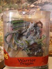 McFarlane's Dragons The Rise Of Man Warrior Dragon Figure Statue New Rare!!