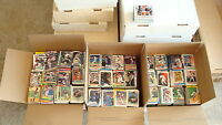 HUGE 3,000+ LOT OF BASEBALL CARDS /HUGE BASEBALL CARD COLLECTION 1980'S - 2000'S