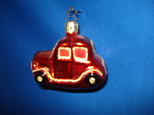Old World Christmas Car Red German 04603R  35 17